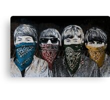 the Beatles In Disguise Canvas Print
