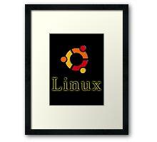 Linux Ubuntu Framed Print