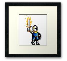 Victory knight Framed Print