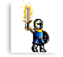Victory knight Canvas Print