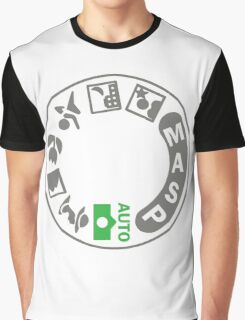 Digital SLR Camera Dial Graphic T-Shirt
