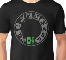Digital SLR Camera Dial Unisex T-Shirt