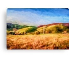 Sunset Field       (GO) Canvas Print