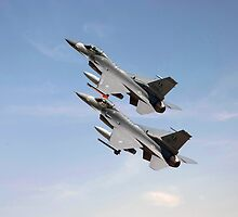 F16 -  Still the wild blue beckons by Pat Speirs