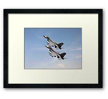 F16 -  Still the wild blue beckons Framed Print
