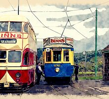 The Vintage Era, Retro Trams by Moonlake