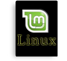 Linux Mint Canvas Print