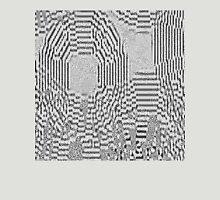 Gray Digital Abs6 Unisex T-Shirt