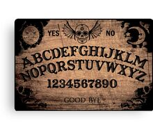 Classic ouija board Canvas Print