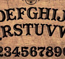 Classic ouija board Sticker