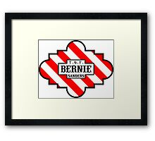 Thank Goodness for Bernie Sanders! Framed Print