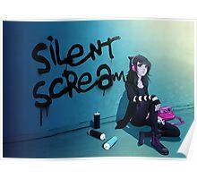 Zoe- Silent Scream Poster