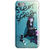Zoe- Silent Scream iPhone Case/Skin