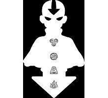 Aang white version Photographic Print