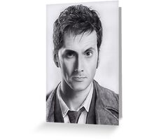 David Tennant Doctor Who No.10 Greeting Card