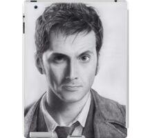David Tennant Doctor Who No.10 iPad Case/Skin
