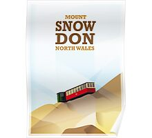Mount Snowdon, North Wales Poster