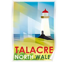 Talacre Lighthouse, North Wales Poster