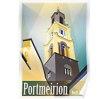 Portmeirion, North Wales Poster
