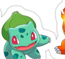 Pokemon - Starters Sticker