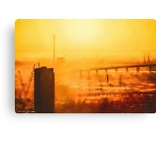 Hot in the City (GO1) Canvas Print