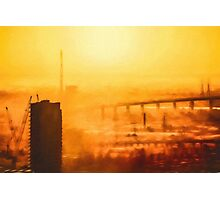 Hot in the City (GO1) Photographic Print