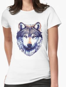 Dire Wolf Womens Fitted T-Shirt