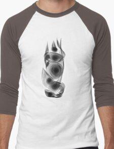 abstract sketching Men's Baseball ¾ T-Shirt