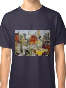 The texture of the city Classic T-Shirt