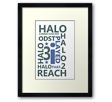 I played that! Framed Print