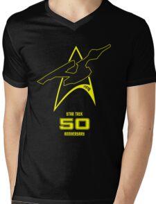 Star Trek 50th Anniversary Mens V-Neck T-Shirt