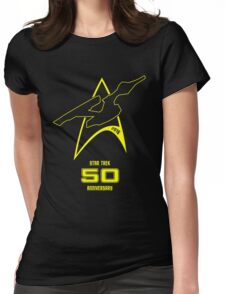 Star Trek 50th Anniversary Womens Fitted T-Shirt