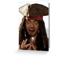 Captain Bean Greeting Card
