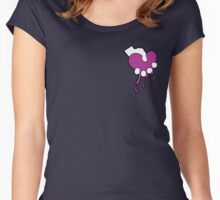 Squeezing Heart- Signature Logo Women's Fitted Scoop T-Shirt
