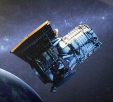 Artist's concept of the Wide-field Infrared Survey Explorer spacecraft. Sticker