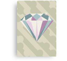 Retrometry IV (Diamond) Canvas Print
