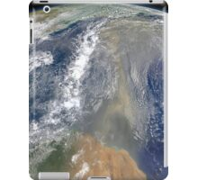 Dust heading west toward South America and the Gulf of Mexico. iPad Case/Skin