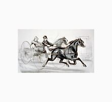 A hot race to the wire - Currier & Ives - 1887 Unisex T-Shirt