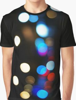 Bokeh lights Graphic T-Shirt