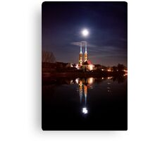 Full moon - full Canvas Print