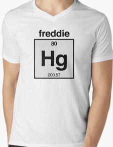 Freddie Mercury Mens V-Neck T-Shirt