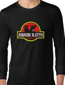 Jurassic Sloth! Long Sleeve T-Shirt