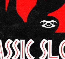 Jurassic Sloth! Sticker