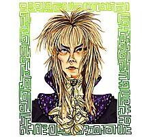 David Bowie Tribute Photographic Print