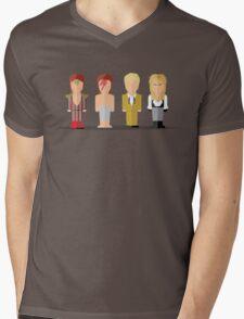 Best of David Bowie Mens V-Neck T-Shirt