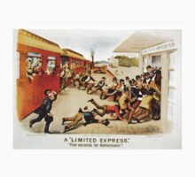 A limited express - five seconds for refreshments - 1884 Kids Clothes
