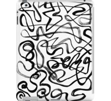 Tangled Thoughts of Nothingness iPad Case/Skin