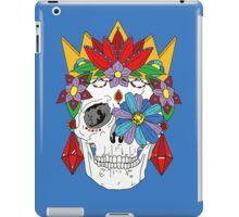 Royal Dead, Floral Crown Sugar Skull iPad Case/Skin