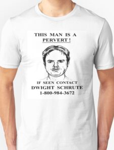 This Man is a Pervert - The Office T-Shirt