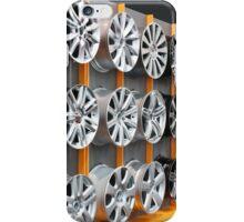 car aluminum wheels iPhone Case/Skin